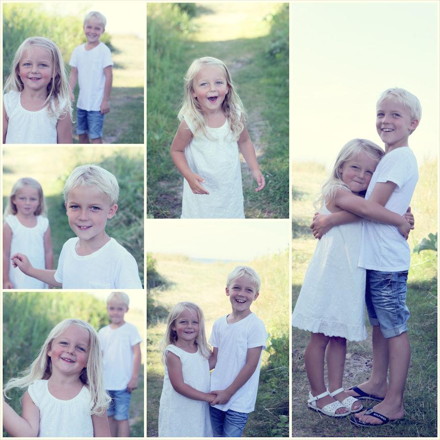 Barnfotografi syskon